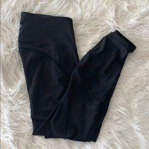 Black full length lululemon size 8 leggings